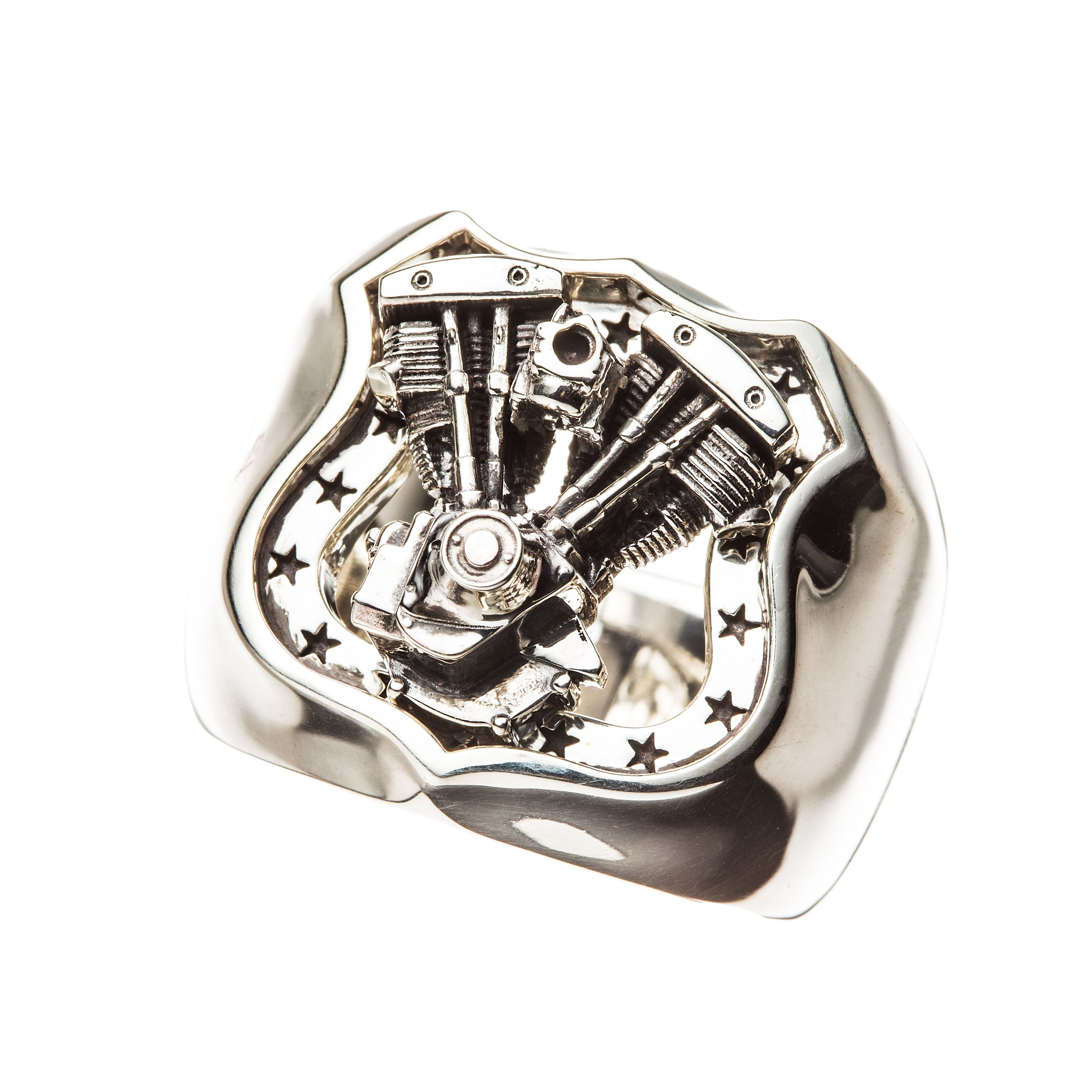 SHOVEL ENGINE RING