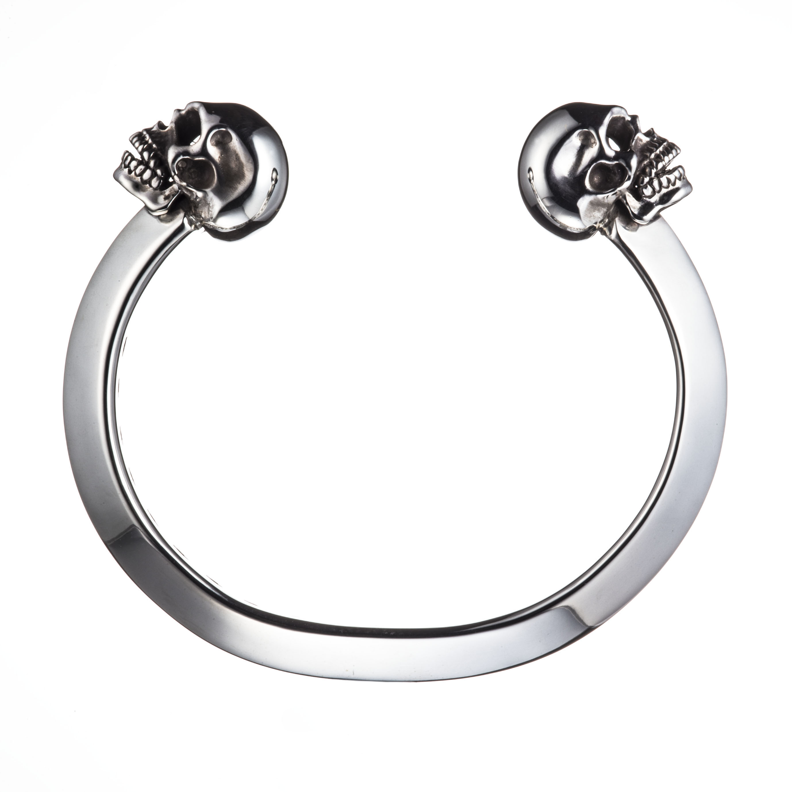 TWIN SKULL BANGLE (NORMAL SKULL)