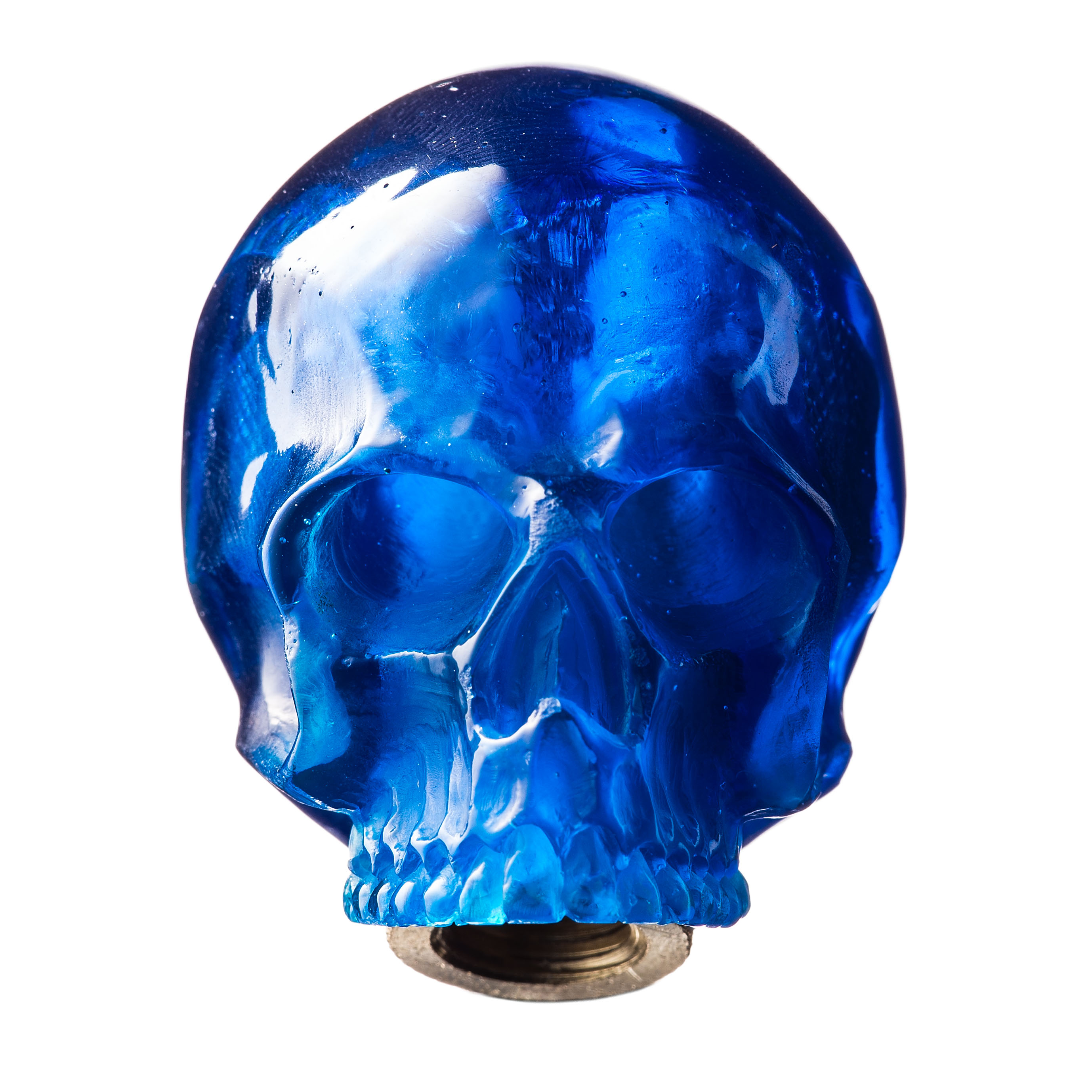 SKULL SHIFT KNOB (BLUE)
