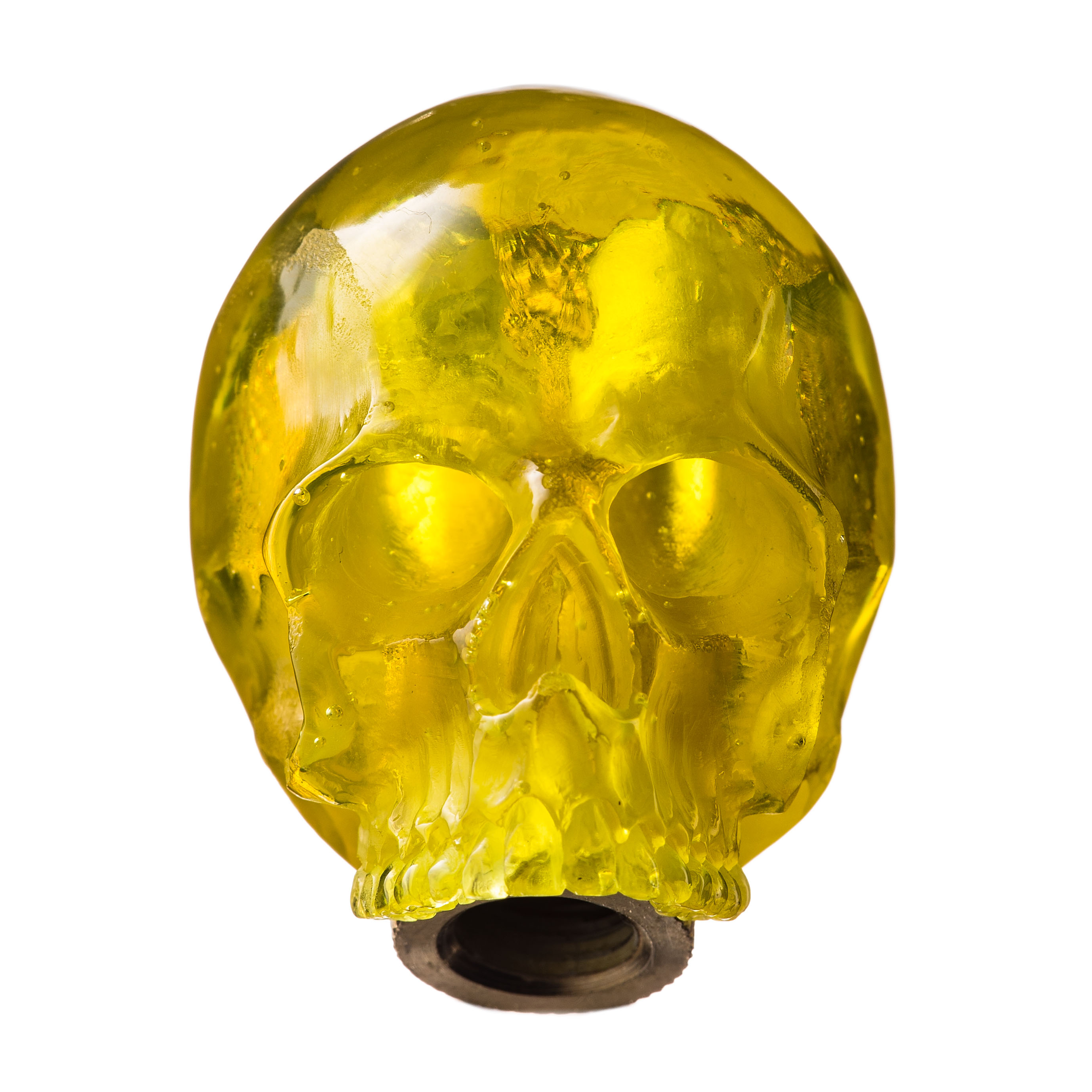 SKULL SHIFT KNOB (YELLOW)