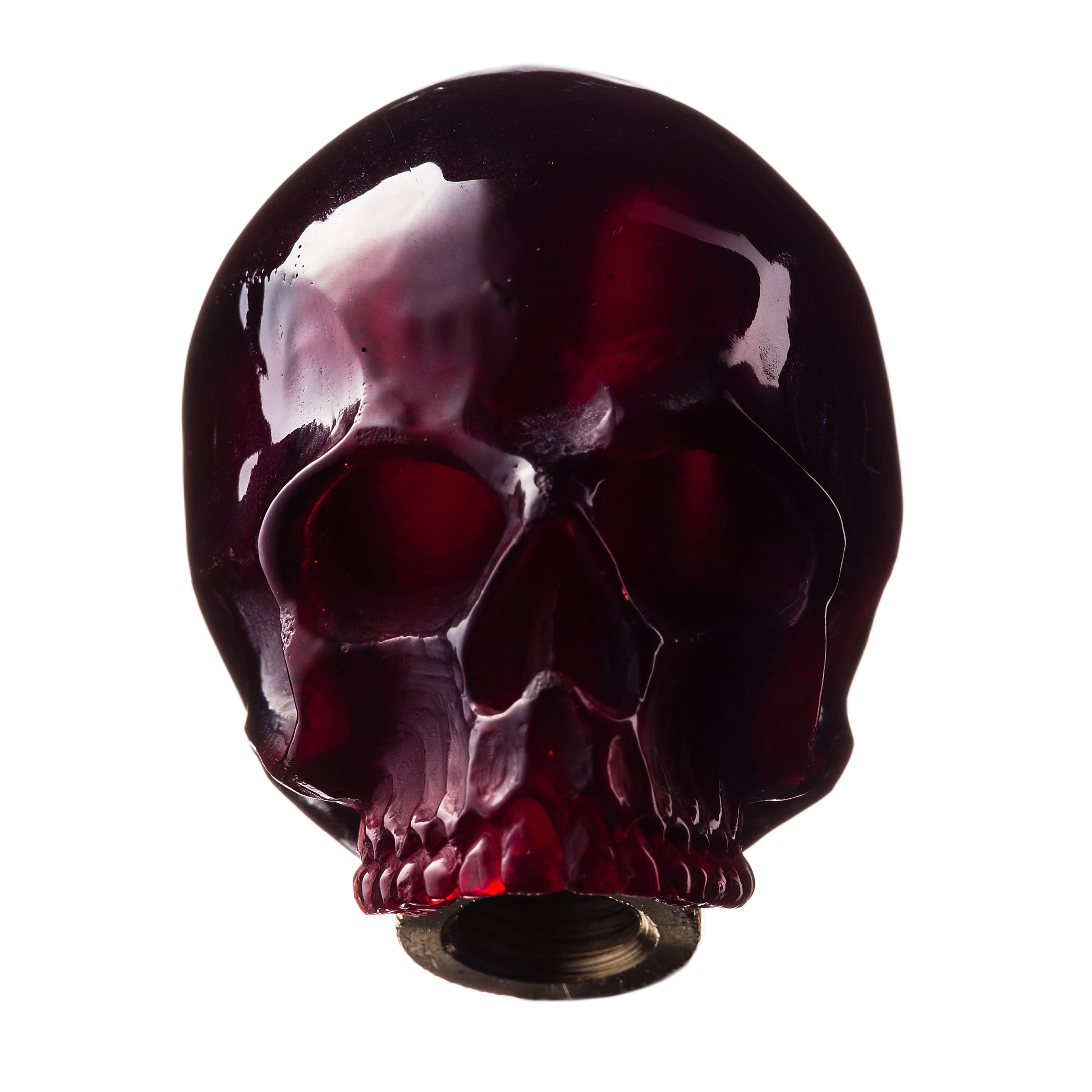 SKULL SHIFT KNOB (RED)